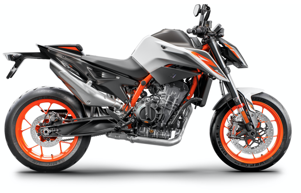 Meet the new KTM 890 DUKE R